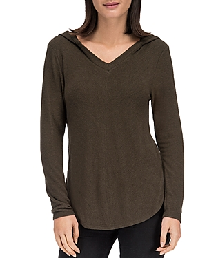 B Collection By Bobeau B COLLECTION BY BOBEAU HOODIE TOP