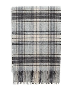 The Men's Store at Bloomingdale's Plaid Cashmere Scarf_0