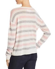 Velvet by Graham & Spencer - Striped Crewneck Sweater - 100% Exclusive