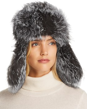 Maximilian Furs - Fox Fur Trapper Hat