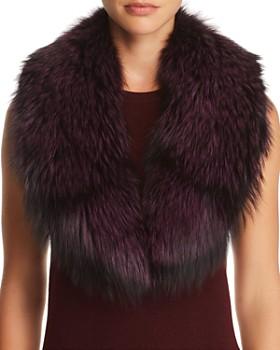 Maximilian Furs - Fox Fur Collar - 100% Exclusive