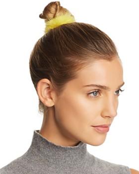 Maximilian Furs - Knit Mink Fur Hair Tie