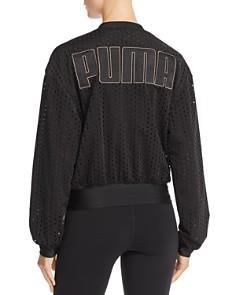 PUMA - Logo Mesh Jacket