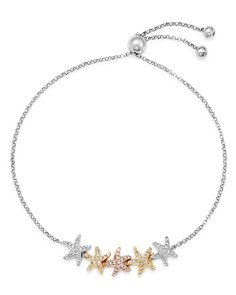 Bloomingdale's - Diamond Starfish Bolo Bracelet in 14K Rose, Yellow & White Gold, 0.25 ct. t.w. - 100% Exclusive