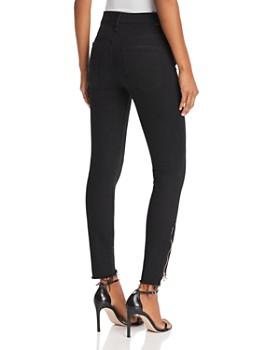 MOTHER - Stunner Zip Step-Hem Ankle Skinny Jeans in Not Guilty