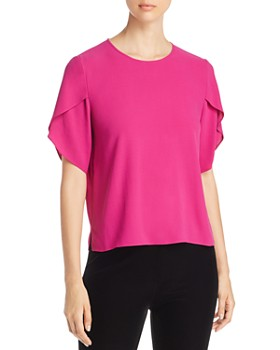 Eileen Fisher - Silk Tulip Sleeve Top