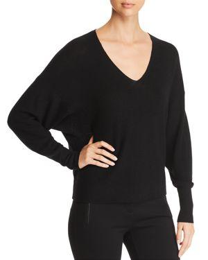 Eileen Fisher Petites Merino Wool Dolman Sleeve Sweater