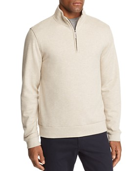 Brooks Brothers - French Terry Quarter-Zip Sweatshirt