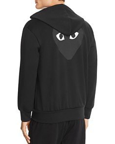 Comme Des Garcons PLAY - Tonal Heart Graphic Hoodie