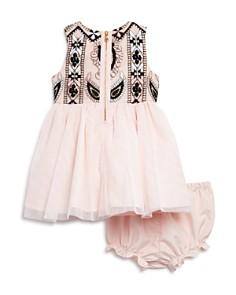 Pippa & Julie - Girls' Embroidered Tutu Dress & Bloomers Set - Baby