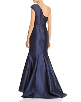 Adrianna Papell - One-Shoulder Gown