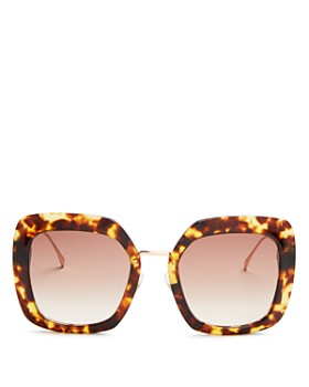 Fendi - Women's Oversized Square Sunglasses, 53mm