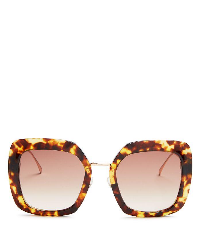 a4954eb9ff20 Fendi - Women s Oversized Square Sunglasses