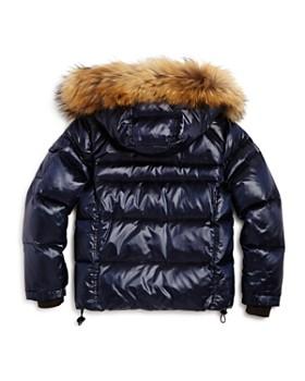 SAM. - Boys' Mountain Fur-Trimmed Down Jacket - Little Kid