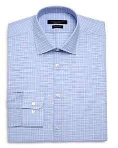 John Varvatos Star USA - Checked Graph Regular Fit Dress Shirt
