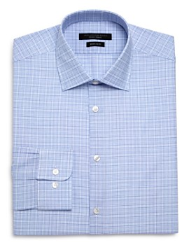 John Varvatos Star USA - Checked Graph Regular Fit Dress Shirt