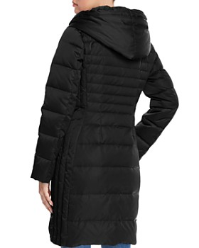 T Tahari - Mia Fitted Puffer Coat