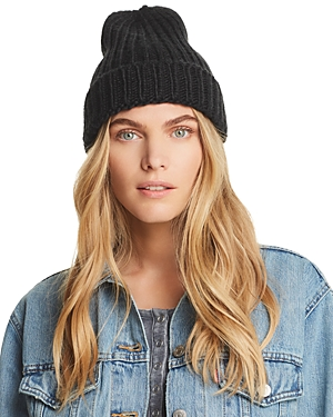Aqua Chunky Knit Hat - 100% Exclusive