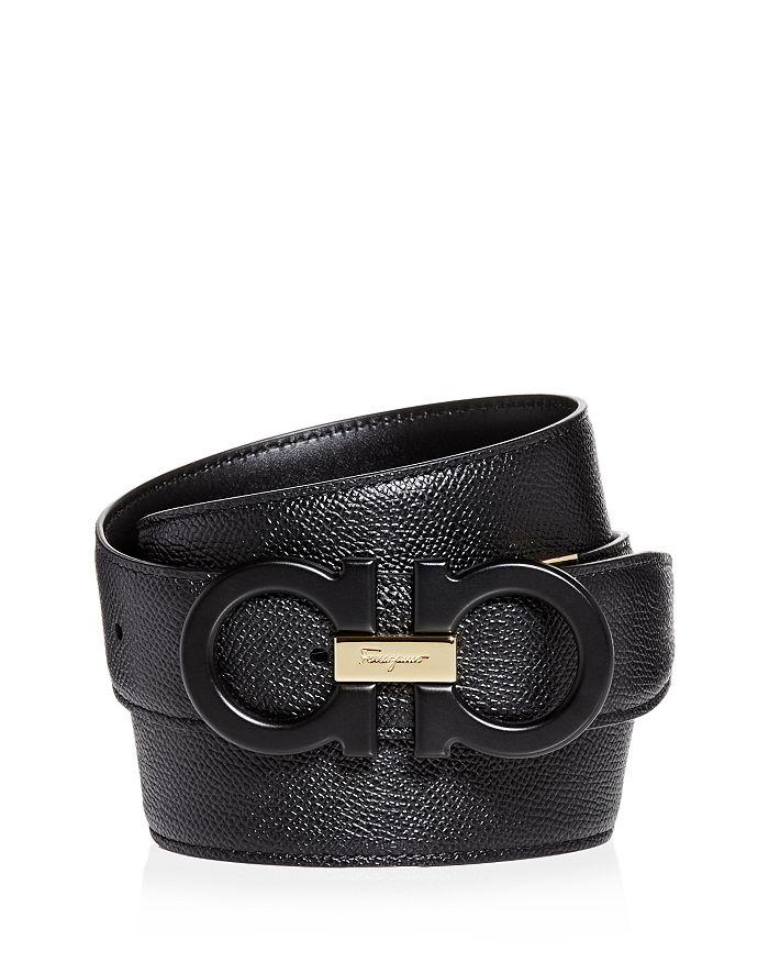 98c666299d6 Salvatore Ferragamo - Men s Matte Double Gancini Reversible Leather Belt