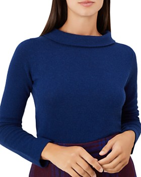 HOBBS LONDON - Audrey Funnel-Neck Sweater