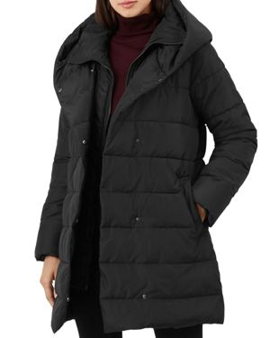 Hadley Puffer Coat, Black