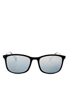 Prada - Men's Linea Rossa Polarized Brow Bar Aviator Sunglasses, 56mm