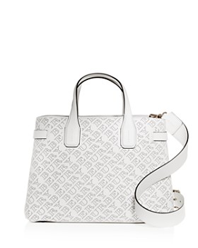 Burberry - The Mediuml Banner Perforated Leather Tote