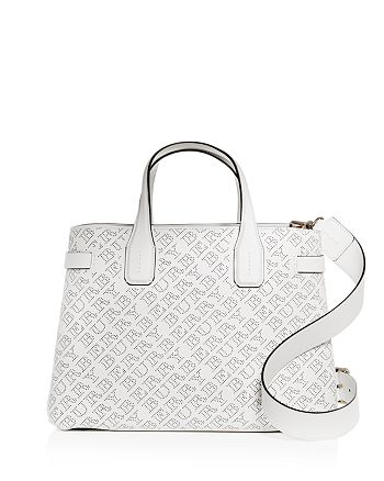 b21f3b0dedf6 Burberry - The Mediuml Banner Perforated Leather Tote