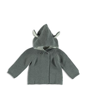 Stella McCartney - Unisex Ear Detail Hooded Cardigan - Baby