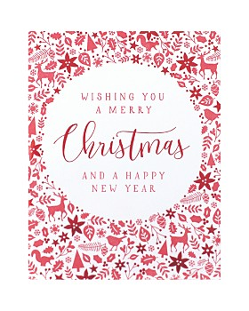 Design Design - Merry Christmas Greeting Cards, Box of 8