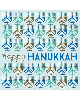 Design Design - Happy Hanukkah Paper Napkins, Set of 20