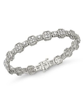 Bloomingdale's - Diamond Milgrain Bracelet in 14K White Gold, 3.0 ct. t.w. - 100% Exclusive