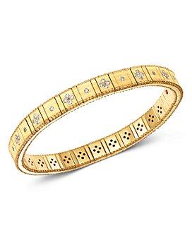 Roberto Coin - 18K Gold Princess Diamond Bracelet
