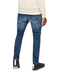 G-STAR RAW - 3301 Slim Fit Stretch Jeans in Dark Aged 86