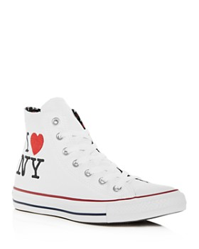 Converse - Women's Chuck Taylor All Star I Love NY High Top Sneakers