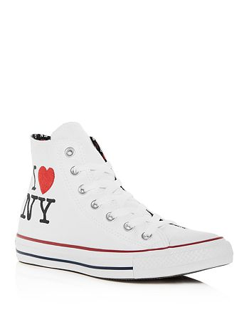 c5247664efe Converse Women's Chuck Taylor All Star I Love NY High Top Sneakers ...