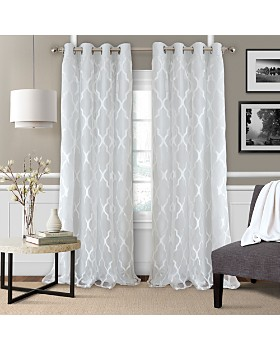Elrene Home Fashions - Bethany Geometric Overlay Blackout Collection