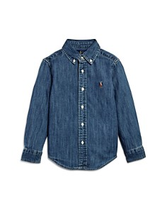 Ralph Lauren - Boys' Denim Button-Down Shirt - Little Kid