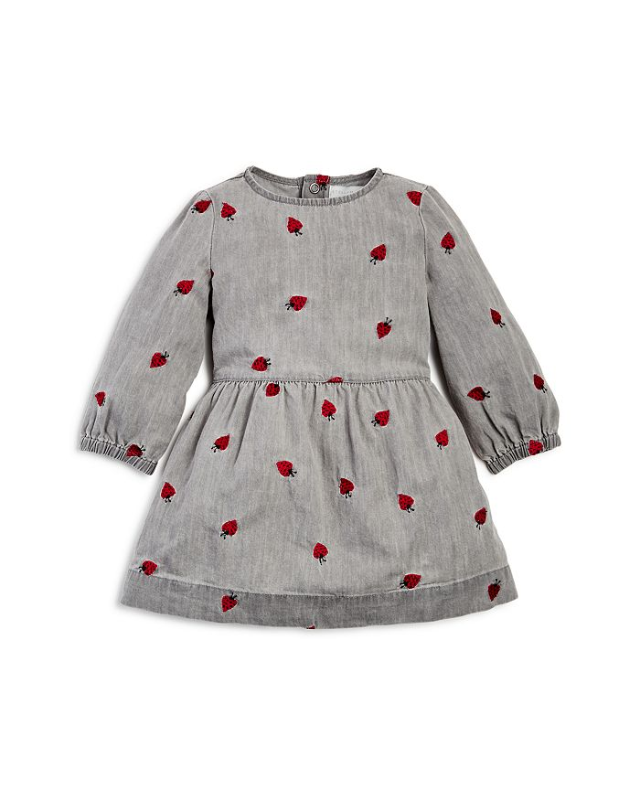 ae8fdcac1 Stella McCartney Girls  Skippy Embroidered Lady Bug Denim Dress ...