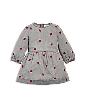 Stella McCartney Girls' Skippy Embroidered Lady Bug Denim Dress - Baby