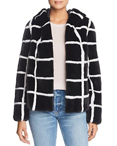 Maximilian Furs - x Norman Ambrose Hooded Mink Fur Coat