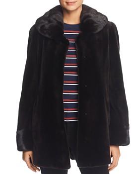 Maximilian Furs - Sheared Mink Fur Coat