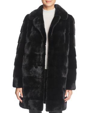 MAXIMILIAN FURS Nafa Mink Fur Coat - 100% Exclusive in Blackglama