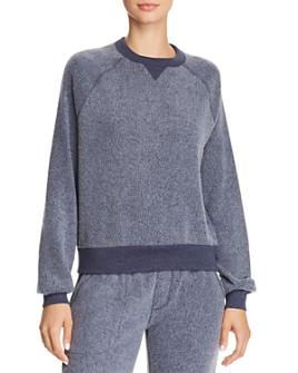ALTERNATIVE - Teddy Textured Sweatshirt