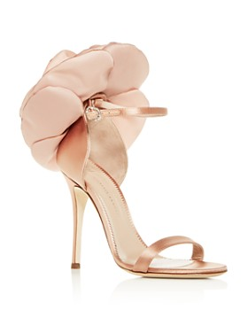 Giuseppe Zanotti - Women's Flower-Embellished High-Heel Sandals