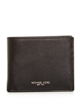 Michael Kors - Henry Slim Leather Bi-Fold Wallet