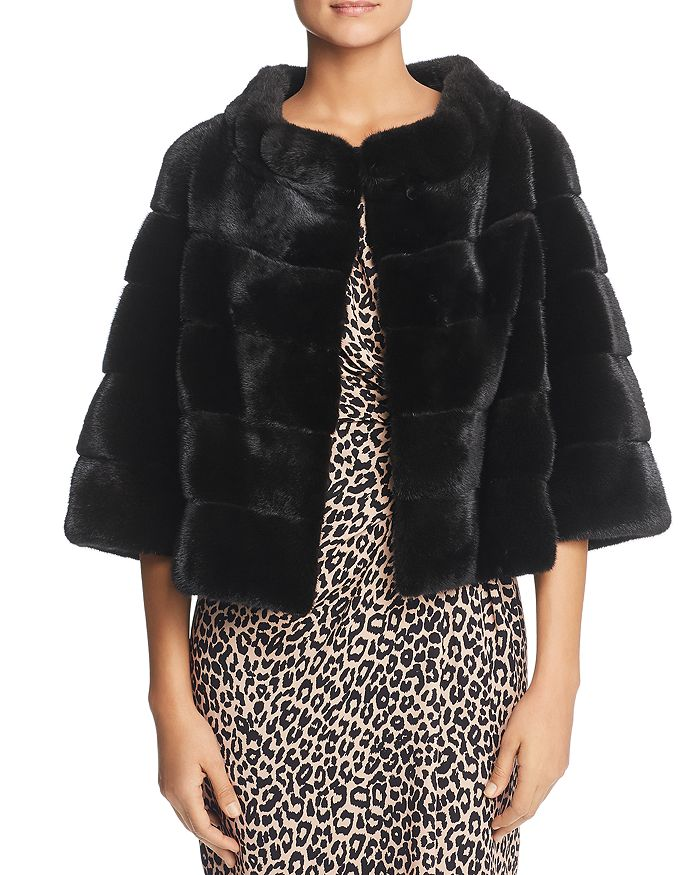Maximilian Furs - Mink Fur Bolero - 100% Exclusive
