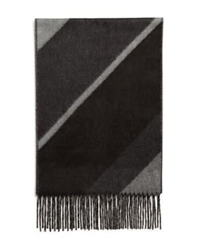 The Men's Store at Bloomingdale's - Diagonal-Stripe Scarf - 100% Exclusive
