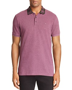 Scotch & Soda Plaid-Collar Regular Fit Polo Shirt - Bloomingdale's_0