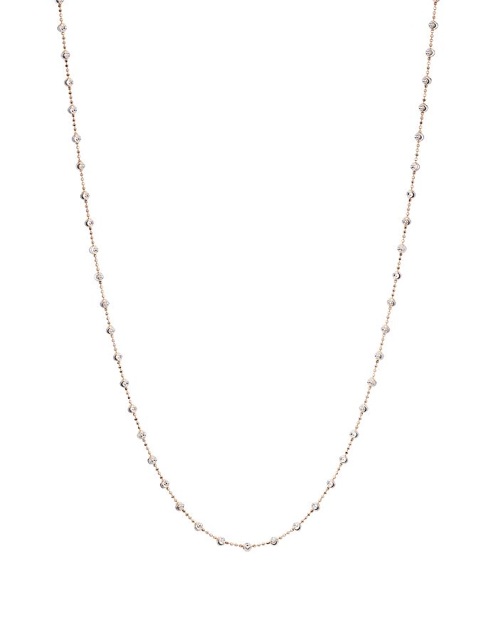 Officina Bernardi - Moon Bead Chain Necklace, 36""